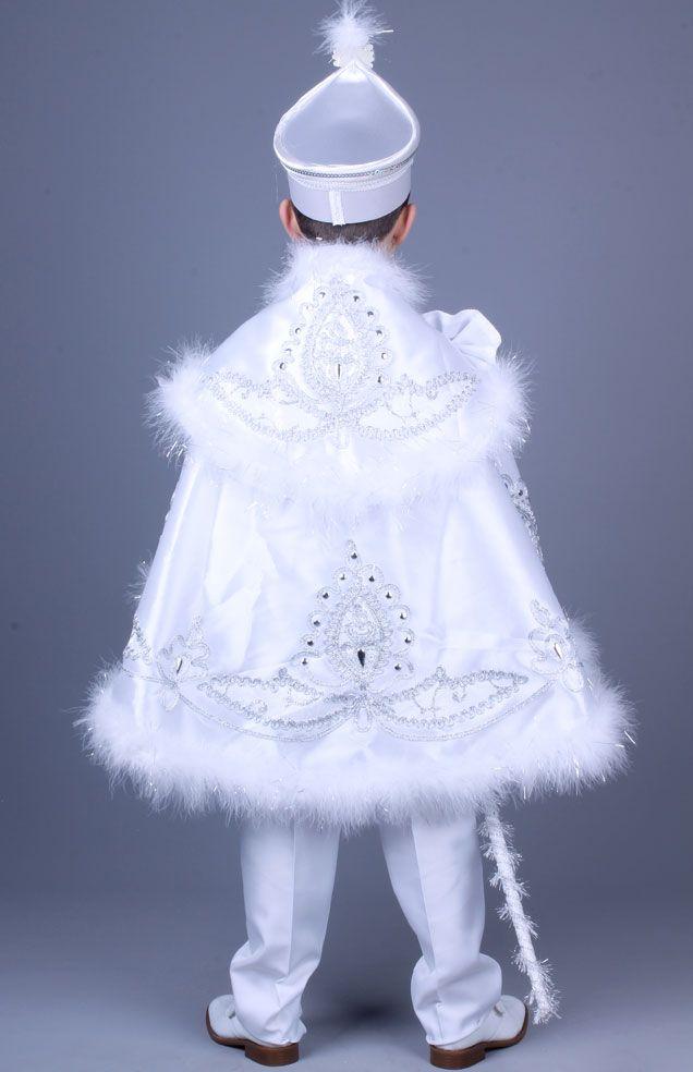 Yağız Beyaz Gümüş Pelerinli Sünnet Elbisesi Whatsapp 0507 896 0202 - Telefon Numarası 0(212) 909 32 31