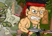 Ormandaki Zombiler ismini verdiğimiz oyunda karşınıza çıkan zombilere doğru ateş ederek ortadan yok olmalarını sağlamalısınız. Her öldürdüğünüz zombinin arkasından yenileri gelecektir. http://www.3doyuncu.com/ormandaki-zombiler/