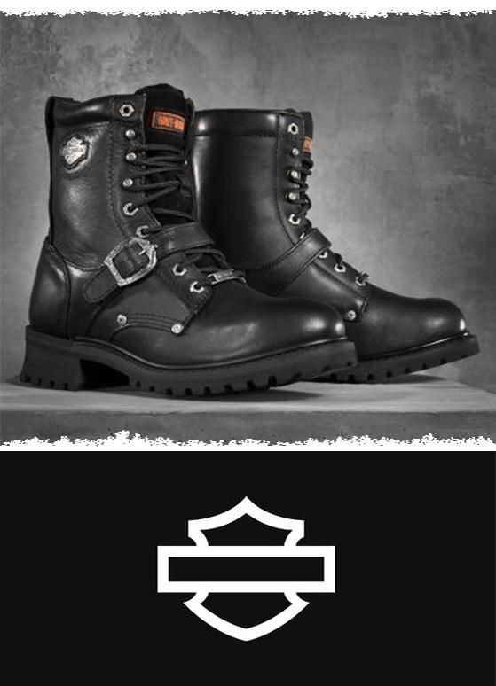 Rugged look and great quality. | Harley-Davidson Men's Faded Glory Performance Boots