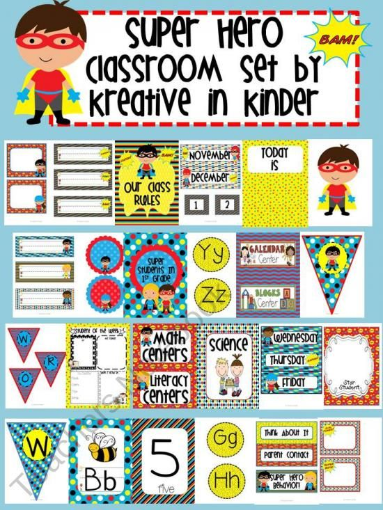 Classroom Ideas Superheroes ~ Best images about superhero classroom theme on