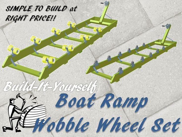 WaveRunner Jet SKi Boat Watercraft Shore Lift Ramp Dock Caster Wheel Kit Set…