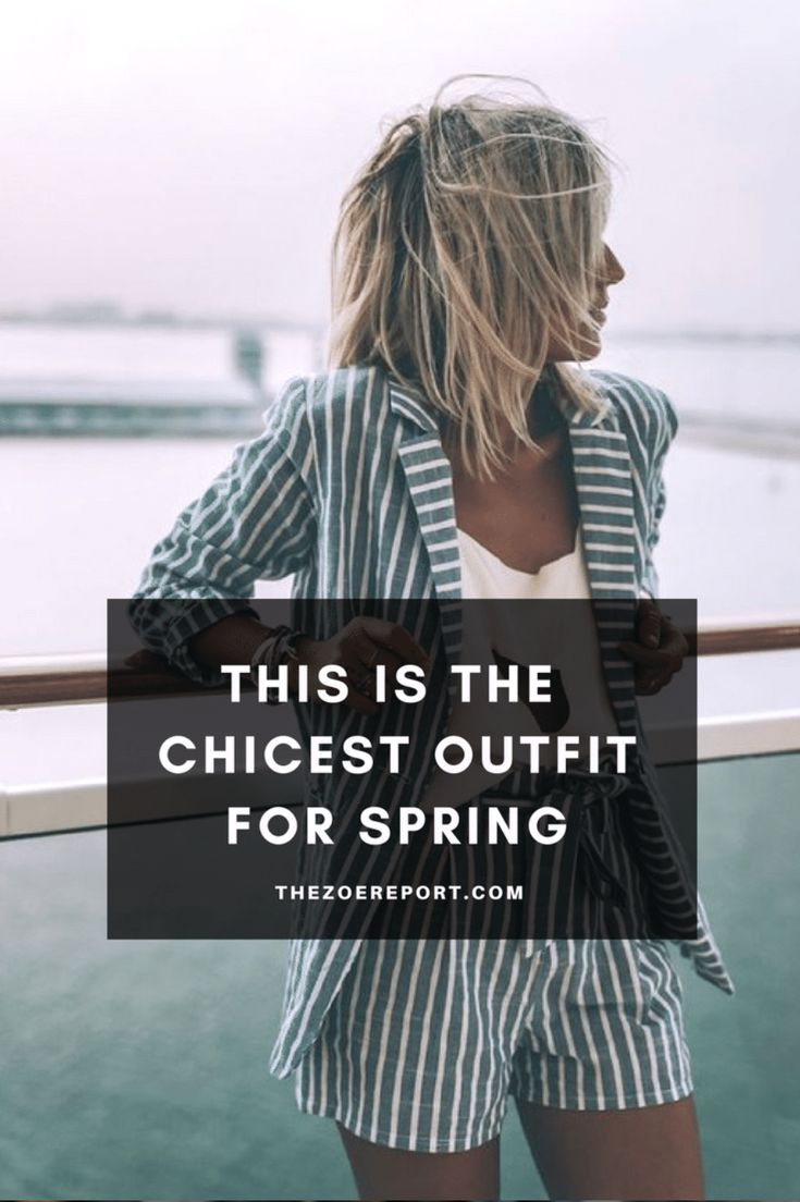 Here's the chicest outfit you can buy this spring.