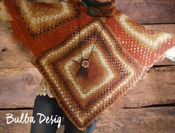 Hey, I found this really awesome Etsy listing at https://www.etsy.com/listing/564508166/crochet-poncho-boho-clothing-oversize