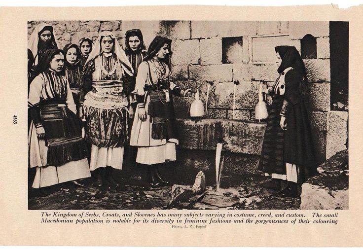 """галичко-реканскиот крај. Снимка од книгата """"Луѓе од сите нации"""" на Александар Хамертон, објавена во 1922 година."""