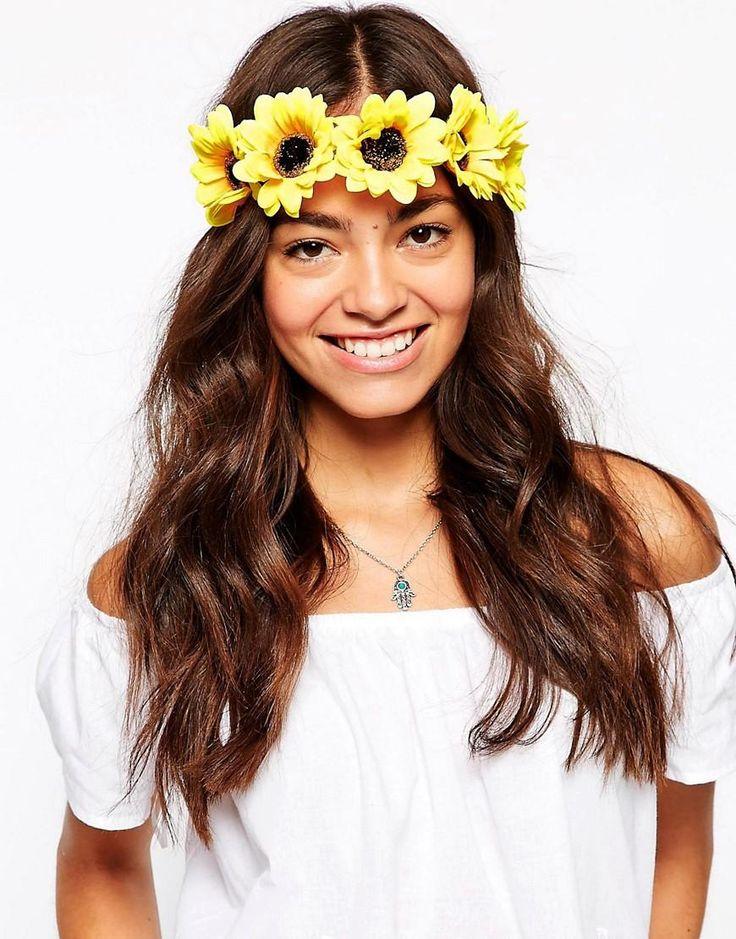 Johnny Loves Rosie | Johnny Loves Rosie Sunflower Headband at ASOS