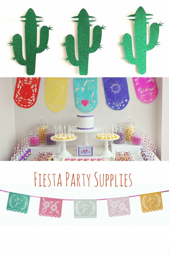 Fiesta Party Supplies on the Life's Little Celebrations blog!