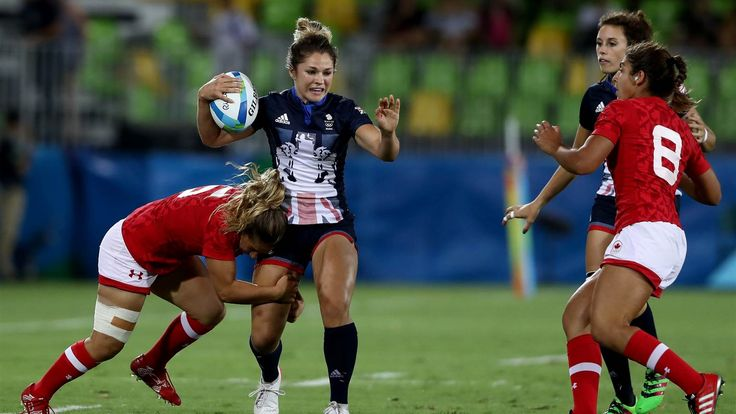 Great Britain lost 33-10 to Canada for bronze in Rugby Sevens