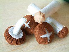 how to make a felt mushroom