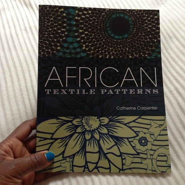 African textile patterns #textiles #patterns #books