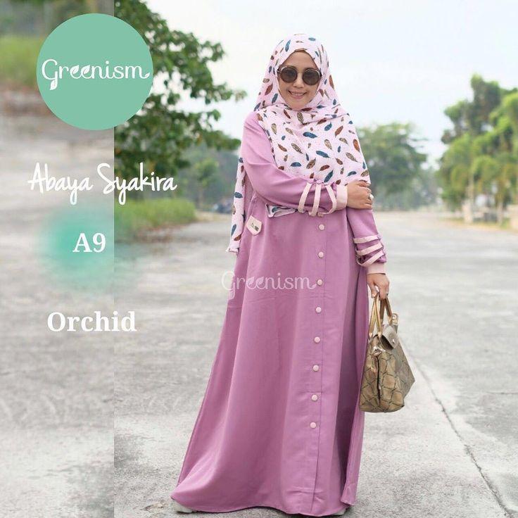 Gamis Greenism Abaya Syakira A9 Orchid - baju muslim wanita baju muslimah Untukmu yg cantik syari dan trendy . . - Bahan balotelly - Busui bumil dan wudhu friendly - Hiasan di pergelangan tangan - Kancing bukaan dada selebihnya kancing hiasan - 1 Kantong aktif - Tidak termasuk hijab . . Size chart: XS: LD 90/PB 130 S: LD 95/PB 135 M: LD 100/PB 138 L: LD 104/PB 140 XL: LD 110 /PB 142 . . Ready size S L XL Harga Rp 250.000 (gamis saja) . . Yuuk pesan sekarang juga hanya di Gamis Hijab Shabby…