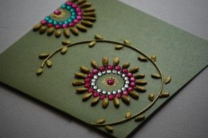 Best Out Of Waste | Best Ideas to Create Greeting cards for Diwali 2013 using waste things. | http://bestoutofwaste.org