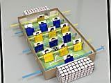 夏休みの自由工作♪ 空き箱で作るサッカーゲーム