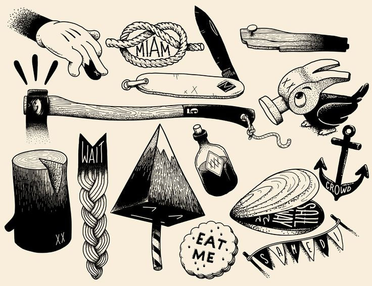 flash mcbess labarberiadelmono McBess, ilustración con alma rockera