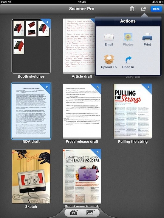 Readdle Scanner Pro 4.1 review