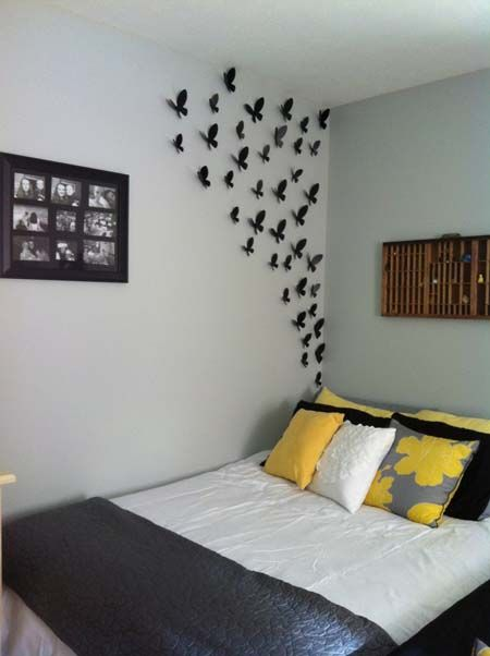 50 desain hiasan dinding kamar tidur kreatif sederhana on wall stickers stiker kamar tidur remaja id=95104