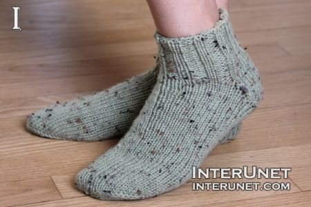 How to knit basic socks | interunet