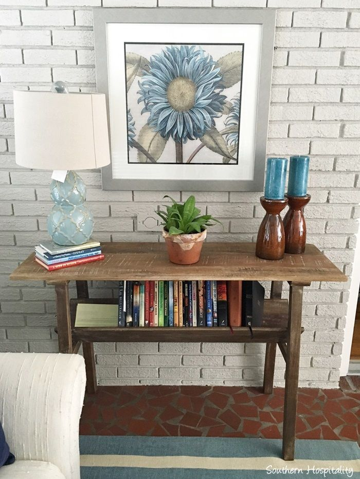 Incroyable Southern Hospitality Blog Used Our #Nadeau Coffee Table To Liven Up This  Sun Room!