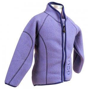 Mikk-Line_Wollfleecejacke_Modell_2006-910_violet_Vorderansicht