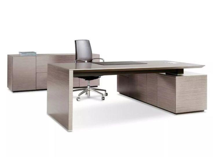 escritorio de oficina ejecutivo, minimalista