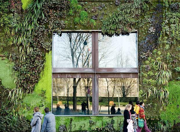 M s de 1000 ideas sobre muros verdes en pinterest arte - Muros de jardin ...