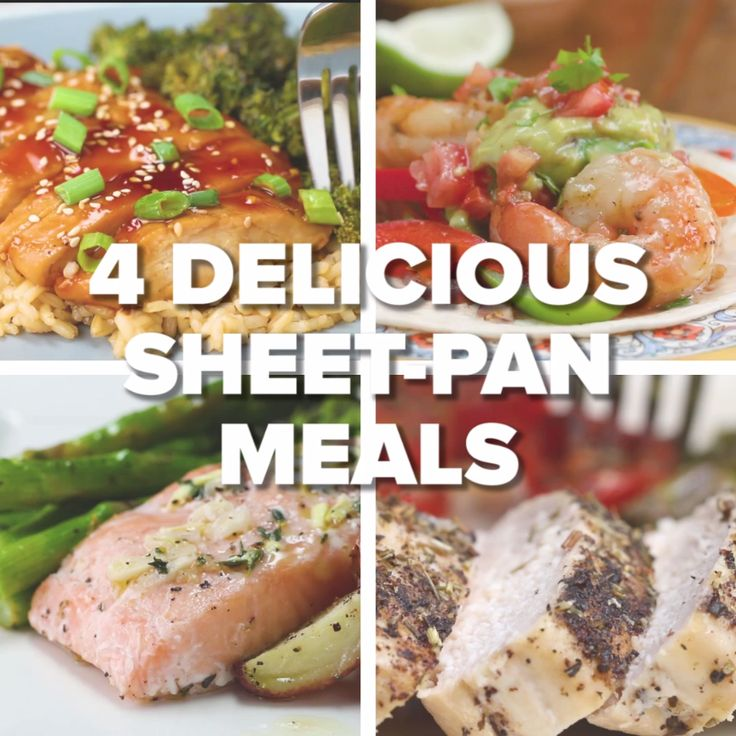 4 Delicious Sheet-Pan Meals