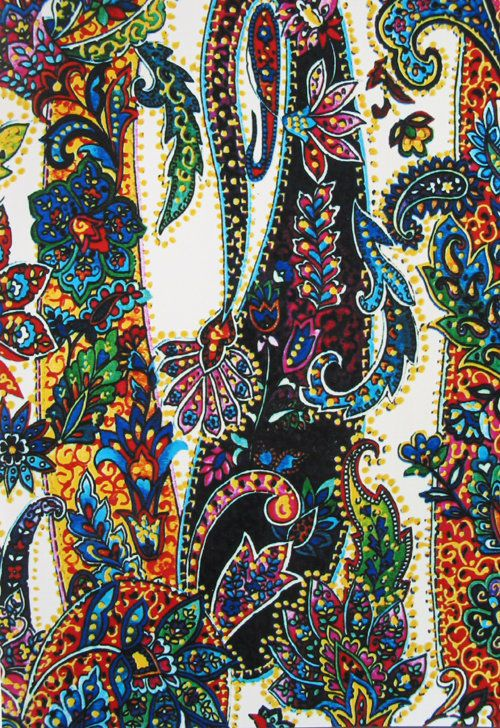 paisley multi-- wouldn't it be beautiful upholstery?