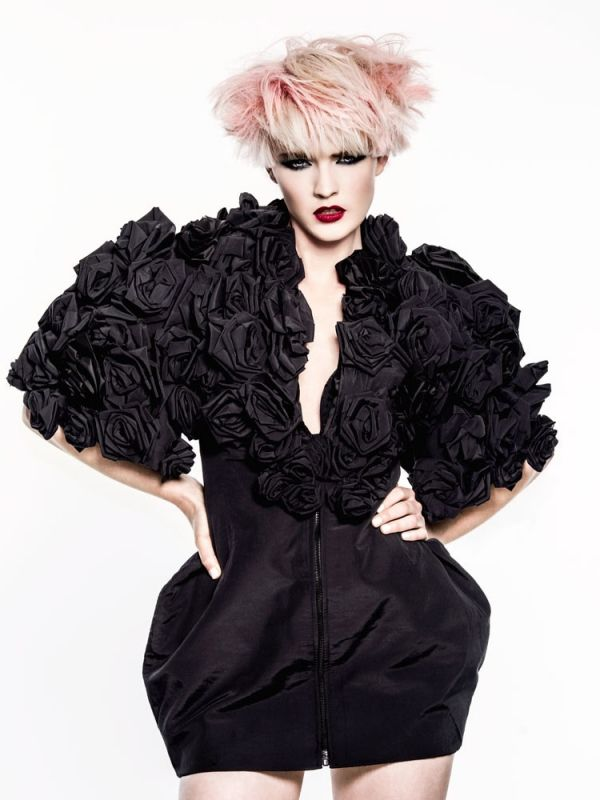 Verge - Nelson Brown   See the full #hair collection at salonmagazine.ca #style #inspiration