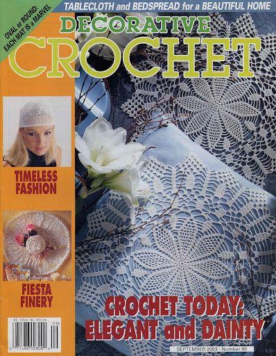 640 Best Images About Magic & Decorative Crochet Patterns