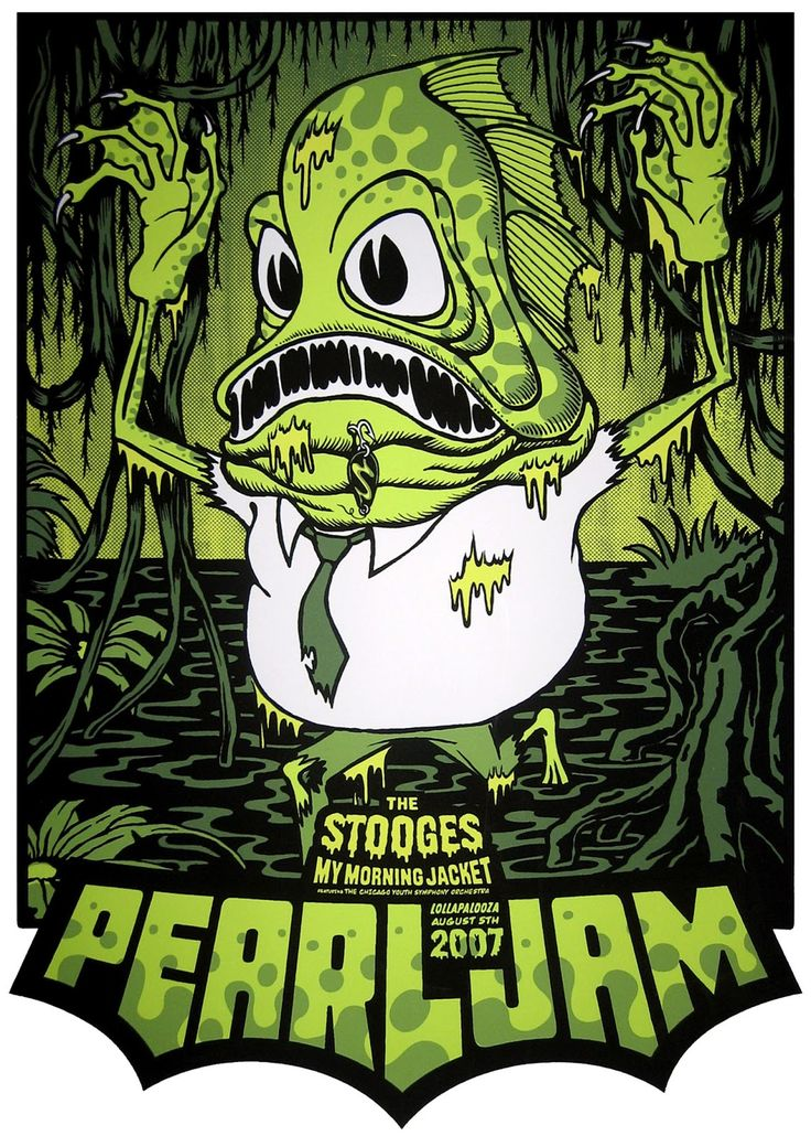 Pearl Jam @ Lollapalooza 2007 by Ames Bros (2007)