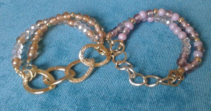 pulseras cadena al centro 1