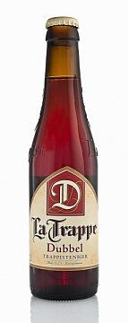 """PIWO LA TRAPPE DUBBEL 0,33L -   Piwo górnej fermentacji klasztorne, klasy """"dubbel"""" - podwójne. Odmiana piwa La Trappe, charakteryzująca się ciemnym kolorem, piwo warzone wg tradycyjnej formuły klasztornej. Piękny..."""