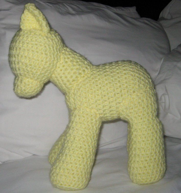 My Little Pony: Friendship Is Magic: Basic pony pattern