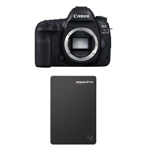introducing canon eos 5d mark iv full frame digital slr camera body with seagate 1tb hard