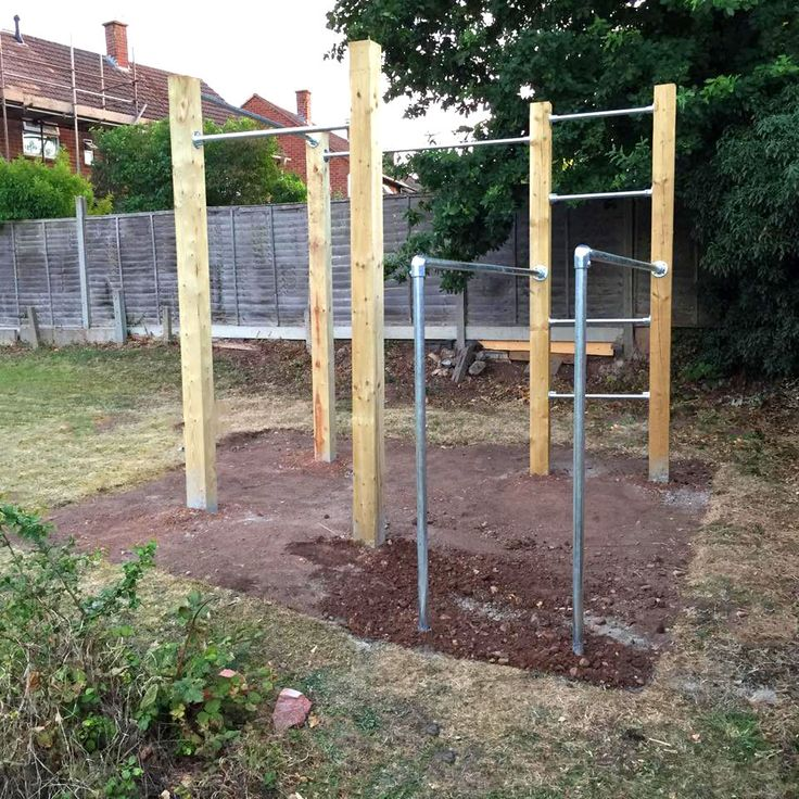 Backyard Gymnastics Bars : Gardens, Calisthenics and Dip bar on Pinterest