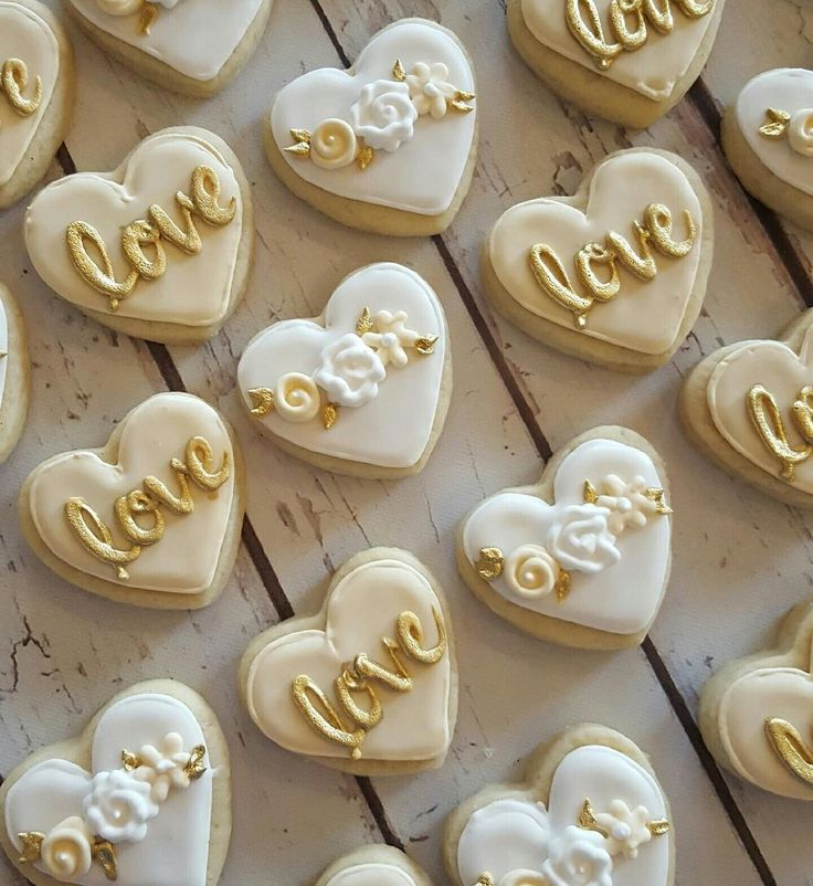 Wedding Sweets Favours Parties Cookie Cakes Cupcake Cookies Sugar 50th Anniversary