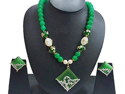 Green Pearls Dazzling Ethnic Bollywood Gold Plated Cz Tra... https://www.amazon.com/dp/B06WP6SWP2/ref=cm_sw_r_pi_dp_x_g8vPybFFFKFTA