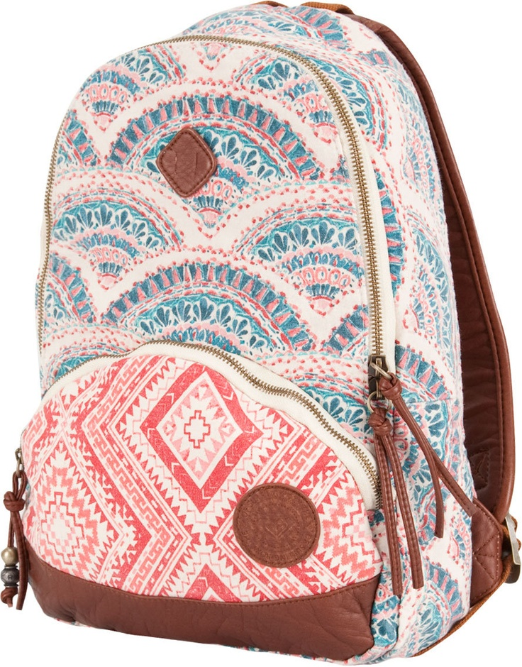 What style will  your back pack this year? boho, glam, chic... maybe a mix???