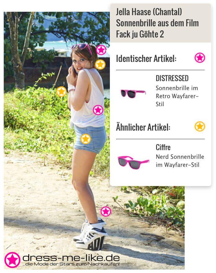 Jella Haase (Chantal) Sonnenbrille aus dem Film Fack ju Göhte 2