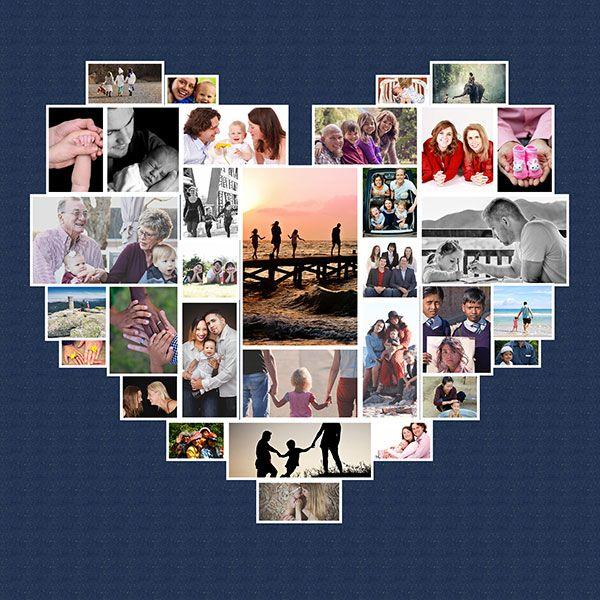 Tutorial Video Dan Gambar Cara Membuat Kolase Foto Bentok Love Di Photoshop Download Template Gratis Kolase Foto Kolase Photoshop
