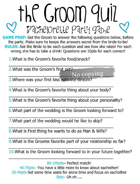 Funny Wedding Reception Games for the Bride and Groom ...