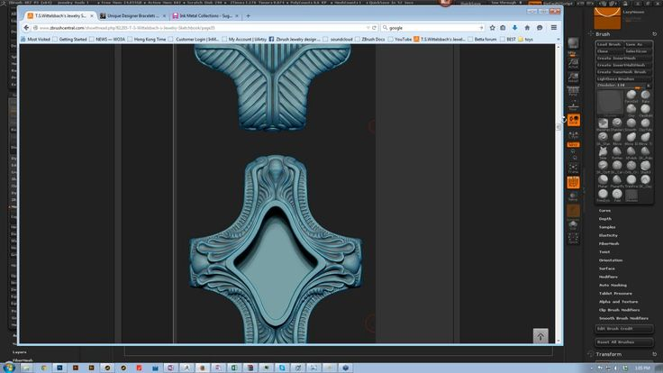 2015-05-28 13.02 Jewelry Design in ZBrush with Tomas Wittelsbach Preview