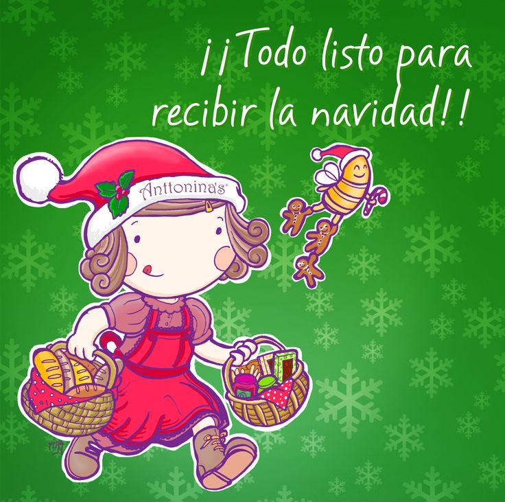 🎄🎁 Se siente  la Navidad en #UnaPizcadeAnttonina