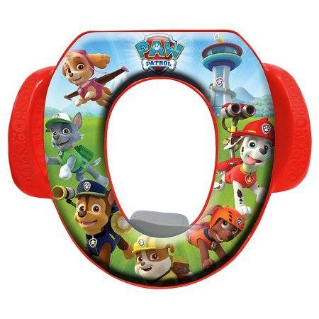 Nickelodeon Paw Patrol Toilet Training Seat - Red : Target