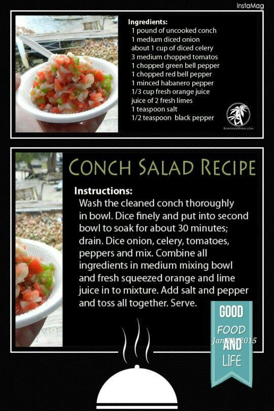 Conch Salad (Bahamas Style)