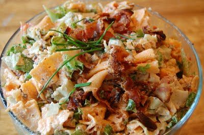 BLT pasta saladSide Dishes, Sidedishes, Recipe Sweets Summertime, Food, Yummy, Blt Pasta Salad, Pasta Salad Recipe, Blt Salad, Pasta Saladalway