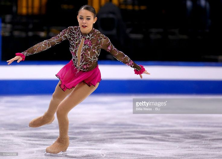 Kailani Craine of Australia competes during Day 4 of the ISU World Figure Skating Championships 2016 at TD Garden on March 31, 2016 in Boston, Massachusetts.
