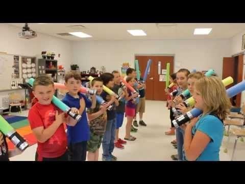 Mrs. King's Music Room: Steady Beat Swords - star wars theme