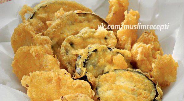 Овощи во фритюре по-индийски  / Удивительная еда!