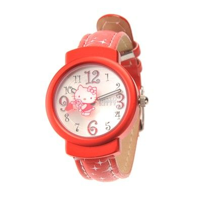 HELLO KITTY WATCHES-HKFR148-RD-01C S$15.00 on Singsale.com.sg