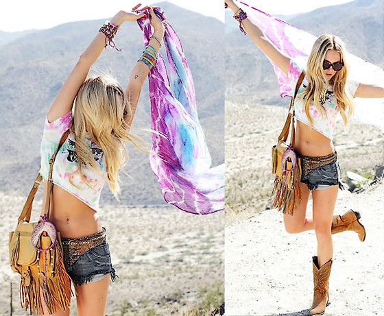 so fun for festivals, young, wild, and free :)